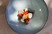 Apricots with quark and whey (Park Hotel Vitznau on Lake Lucerne, Switzerland)