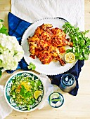Portuguese chicken with citrus coucous