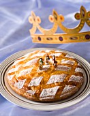 Galette des Rois: Three King's cake with apples