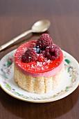 Mini summer pudding