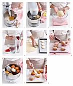 Krapfen mit Marmeladenfüllung herstellen