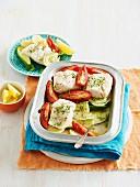 Fisch-Gemüse-Gratin