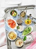 Ten spicy dips for a party buffet