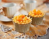 Mandarin marmalade cupcakes
