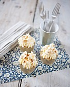 Karamel Popcorn-Cupcakes