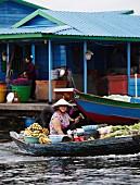 Chnok Tru (Schwimmendes Dorf, Vietnam)