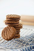 Chocolate sandwich biscuits