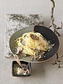 Taglierini with truffles