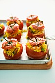 Paella tomatoes