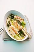 Asparagus cannelloni