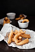 Churros (Fried pastries, Spain)