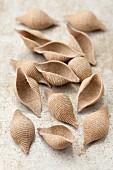 Wholemeal pasta shells