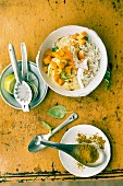 Vegetable curry with cauliflower and coconut