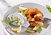Fischnuggets mit Dip