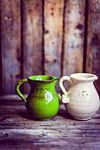 Rustic jugs