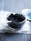 A jar of Beluga caviar