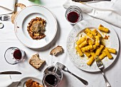 Rigatoni alla Carbonara, typisches Nudelgericht in Rom
