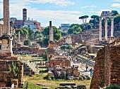 Das Forum Romanum, Rom