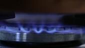 Gasflamme (Close Up)