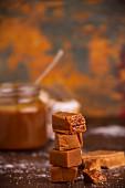 Caramel bonbons and Dulche De Leche