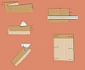 Nähanleitung für Jutesäckchen (Illustration)