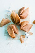 Fortune cookies, whole and broken