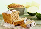 Courgette and nut cake