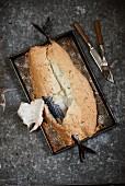 Mackerel in salt dough