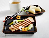 Kamoniku no Yakizuke (marinated duck, Japan)
