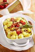 Gnocchi bake with mountain cheese