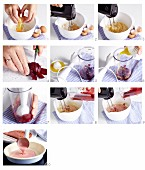 Rote-Bete-Pfannkuchen zubereiten