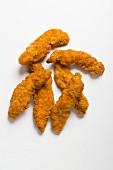 Crispy chicken goujons