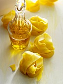 Pappardelle and olive oil