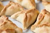Fataya (pastry parcels filled butternut squash, Arabia)