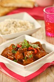 Rogan josh (traditional lamb dish, Kashmir)