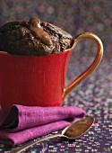 Moelleux Au Chocolat in Tasse