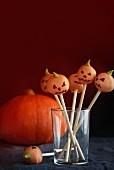 Pumpkin cake pops Halloween
