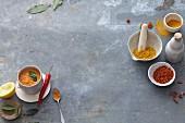 Vegan spice mixtures