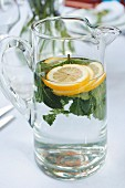 Lemon and peppermint water