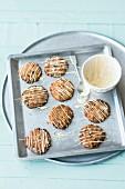 White chocolate cranberry cookies (USA)