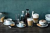 Internationale Kaffeespezialitäten