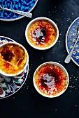 Pumpkin crème brûlée (Turkey)
