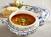 Catalan vegetable soup