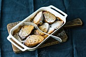 French toast bake with cinnamon