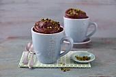 Chocolate mug cakes