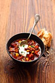 Texan chilli con carne