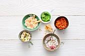 Fünf Lieblings-Dips zum Selbermachen