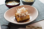 Tofu steak with onions (Japan)