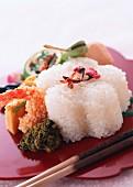Cherry blossom rice (Japan)