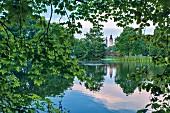 Der Johannapark, Leipzig, Deutschland